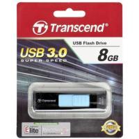 Флэш-диск 8ГБ, USB 3.0 Transcend 760, черно-синяя