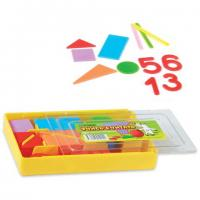 "Касса цифр (счетный материал) ""Учись считать"", пластик, арт. УК01, 132 элемента"