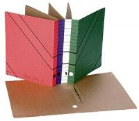 Накопитель документов (скоросшиватель) цветной, 30мм