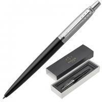 """Ручка подарочная шариковая PARKER """"Jotter Special"""" корпус черный, хромир. детали, шариковая, синяя"""