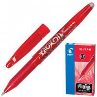 """Ручка гелевая PILOT """"Frixion"""" 0,7мм, красная, стираемые чернила, арт.BL-FR7"""