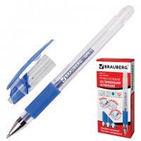 """Ручка гелевая Brauberg """"GPE-111"""" 0,5мм, синяя, стираемые чернила"""