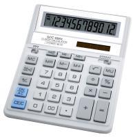 Калькулятор БЕЛЫЙ Citizen SDC-888XWH, две памяти, 12 разрядов, 203х158мм