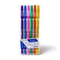"""Набор шариковых ручек Alingar """"Point"""" 6 цв., 0,7 мм., цветной пластиковый корпус"""