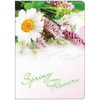 """Папка-уголок Berlingo, с рисунком """"Весенние цветы"""", арт.04031"""