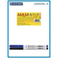 Доска для рисования А5 Centropen, с маркером двухсторонняя