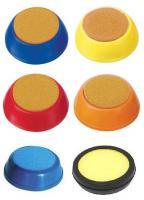 Подушка увлажняющая для пальцев, круглая, цвет ассорти