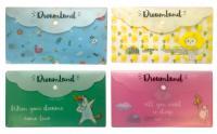 """Папка-конверт DL, EC Travel """"Dreamland"""" 180мк, цвет ассорти"""