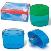 """Точилка EK """"Smart & Sharp"""", пластиковая с контейнером, цвет ассорти"""