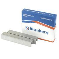 Скобы Brauberg, Berlingo №23/13, до 80 листов, заточенные