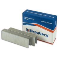 Скобы Brauberg, Berlingo №23/24, до 200 листов, заточенные