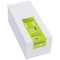 Пружины пластиковые для переплета D14мм (81-100л.), белые, 100шт/уп.