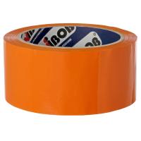 """Скотч """"Nova Roll, Unibob"""", 48мм х 66м, упаковочный (50мкм), оранжевый"""