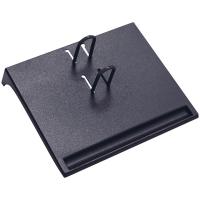 """Подставка для настольного перекидного календаря """"Стамм"""", малая, черная"""