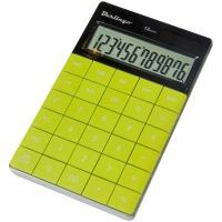 Калькулятор ЗЕЛЁНЫЙ Berlingo CIG-100, 12 разрядов, 165х105мм