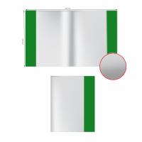 """Обложка ПВХ А5+ (212х350мм) """"Alingar"""" для тетради и дневника, цветной клапан"""