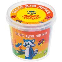 Тесто для лепки Мульти-Пульти 7цв/30г., пластиковый стакан