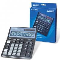 Калькулятор CITIZEN SDC-414, 14 разрядов, 160х205мм