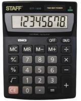Калькулятор STAFF STF-1808, 8 разрядов, 140х105мм