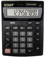 Калькулятор STAFF STF-1210, 10 разрядов, 140х105мм
