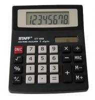 Калькулятор STAFF STF-8008, 8 разрядов, 113х87мм