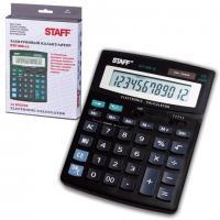 Калькулятор STAFF STF-888-12, 12 разрядов, 200х150мм