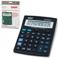 Калькулятор STAFF STF-888-14, 14 разрядов, 200х150мм