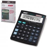 Калькулятор STAFF STF-888-16, 16 разрядов, 200х150мм