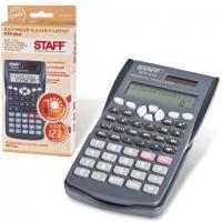 Калькулятор STAFF STF-810, инженерный, двухстрочный, 10+2 разряда, 240 функции, 181х85мм