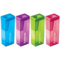 """Точилка пластиковая Berlingo """"NeonBox_15008"""", 1 отверстие, контейнер"""