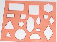 Трафарет геометрических фигур, арт.ТТ11, 12с836
