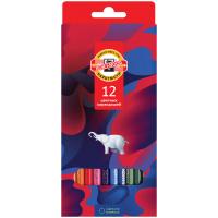 Карандаши цветные Koh-I-Noor набор 12 цв., заточенные