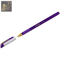 """Ручка шарик. Berlingo """"xGold"""" 0,7мм, фиолетовая, игольчатый стержень,на масляной основе, грип"""