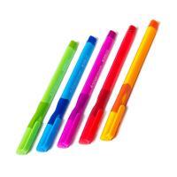 Ручка шарик. Alingar для ЛЕВШЕЙ 0,7 мм., синяя, грип, корпус ассорти