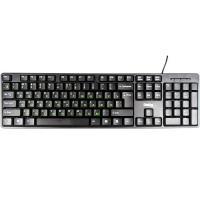 Клавиатура Dialog KS-030, черная, стандартная, usb, ps/2