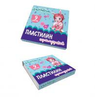 """Пластилин EC """"Enchantimals"""" перламутр 9 цв, 108 г"""