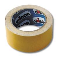 Двухсторонний скотч Unibob, 50мм х 10м, основа-полипропилен
