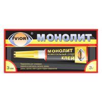 """Клей моментальный """"Монолит"""" 3г. (""""супер-клей"""")"""