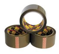 """Скотч """"Nova Roll, Unibob"""", 48мм х 66м, упаковочный (50мкм), коричневый"""