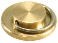 Пломбир под пластилин, диаметр 24мм, материал - латунь