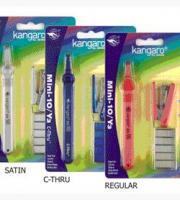 """Набор подарочный """"Kangaro - Mini10/Y3"""" (степлер HS-Mini №10, cкоборасшиватель SR-100, скобы №10), в блистере"""