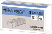 """Скобы """"Kangaro"""" №10, 12л., заточенные, стальные"""