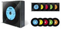 """Диск CD-R 700мБ """"Mirex Максимум"""" тонкие/слим (записываемый)"""