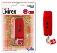 "Флэш-диск 8ГБ, USB 3.0 Mirex ""Chromatic"", цвет в ассортименте"