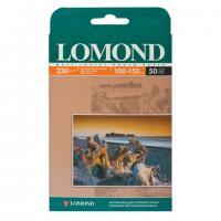 Фотобумага LOMOND для струйной печати 10х15см, одн/мат, 230г/м, 50л