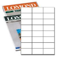 """Самоклеящиеся этикетки 70мм х 37мм х 24шт. на листе, 50 листов, """"Lomond"""""""