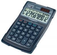 Калькулятор CITIZEN WR-3000, 12 разрядов, 105х160мм, водонепроницаемый корпус