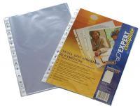 Файлы А4+, EC Premium, прозрачные, сверхплотные (60мкм), гладкие, 100шт/уп.