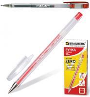 """Ручка гелевая """"G11, Zero, Jet"""" 0,5мм, красная"""