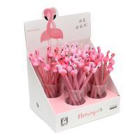 """Ручка шарик. Alingar """"Фламинго"""" синяя, 0,7 мм., игольчатый наконечник, soft корпус"""